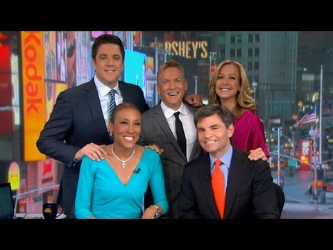So happy for Robin Roberts she returned to GMA today!
