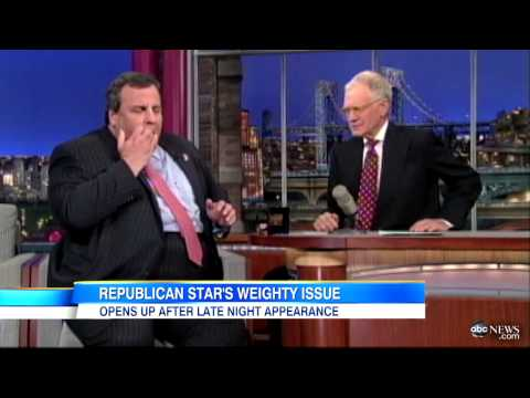 Governor Chris Christie: Confident In His Own Skin