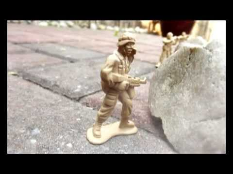 Army Men - Stop motion animation & CGI battle