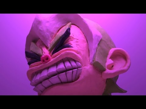 Clay animation : Hard Heavy Headbang!!!