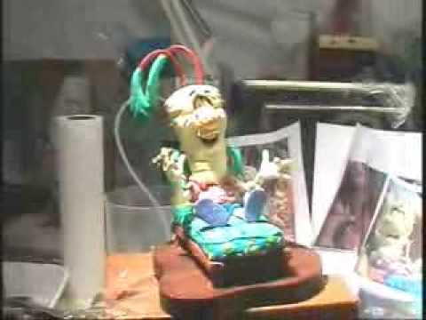 Gary Bialke Claymation Puppet Sculpting Tribute