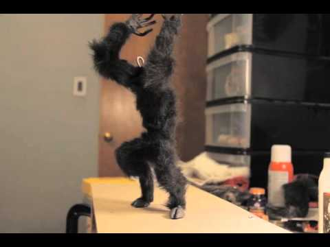 Krampus Stop Motion Puppet Test