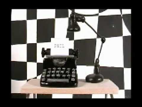 """""""Phil"""" Typewriter TEST"""