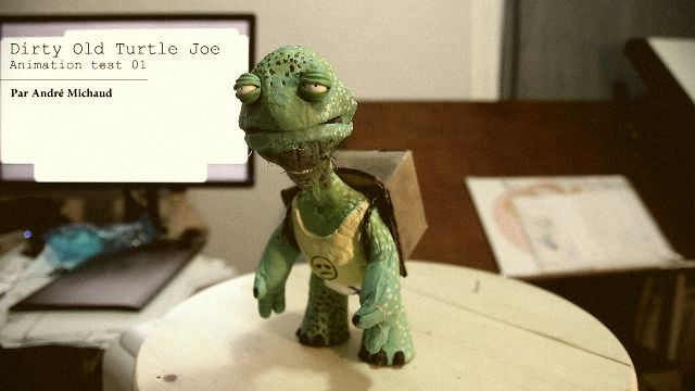 Joe Green Animation test - 2012