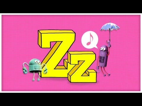 ABC Song - Letter Z - I'll Be with Z by StoryBots