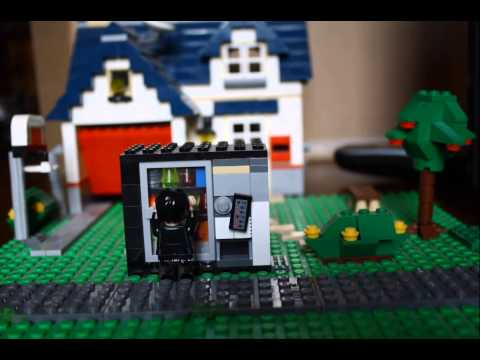 The Vending Machine: Lego Stop Motion