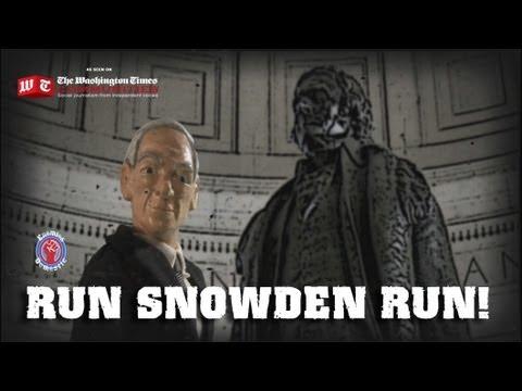 Run Snowden Run!