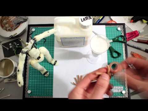 Armacreature time-lapse Ray Harryhausen build