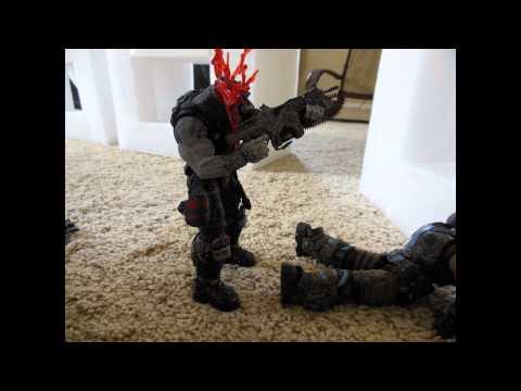 HEADSHOT! (Gears of War Stop Motion)