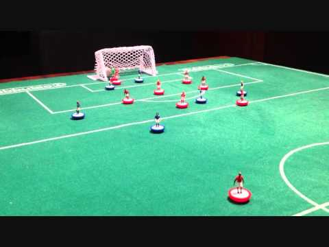Subbuteo Animation Red VS Blue