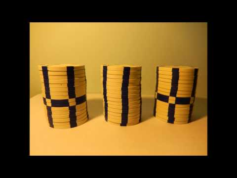 The dancing poker chips (stop-motion) [HD]