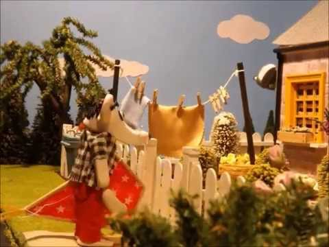 ZEY THE MOUSE Episode 1 'Flying a Kite' FIMO Stop Motion Animation