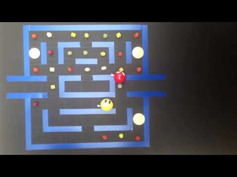 Pac Man Stop Motion Animation