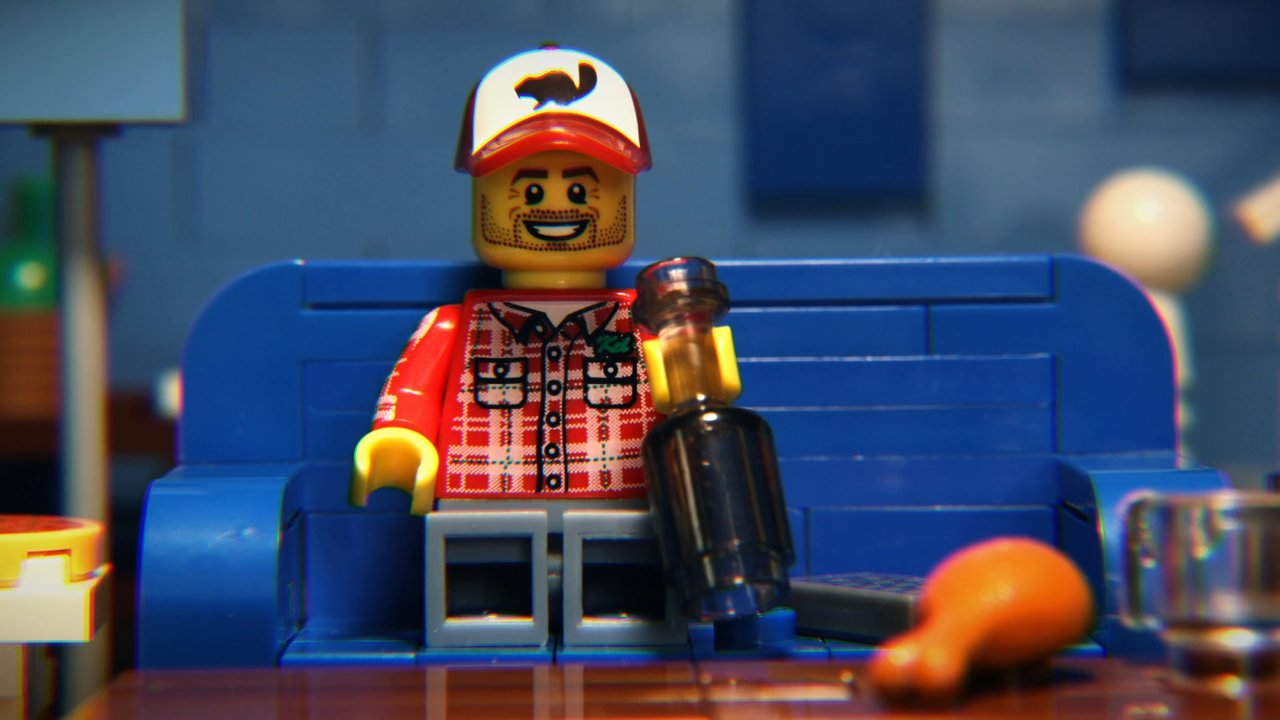 "2015 Big Game Commercials in Lego | ""Brick Bowl"" 