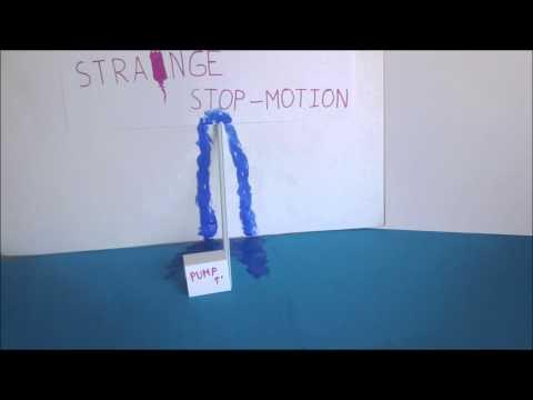Strange stop-motion video