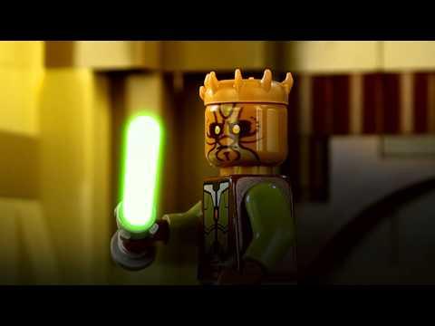 LEGO Star Wars Stop motion jedi duel: Darth Maul vs Kao Cen Darach: Part 2