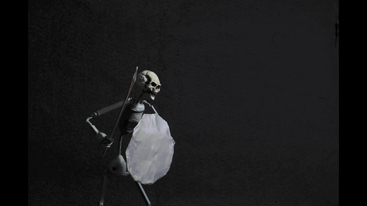 Skeleton Sword Chop inspired by Ray Harryhausen
