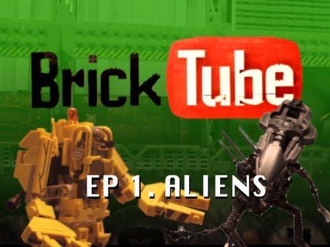 BrickTube - Aliens (Lego animation short)