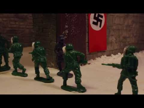 Military Men - Seize The Snow Mountain Castle (Stop Motion)