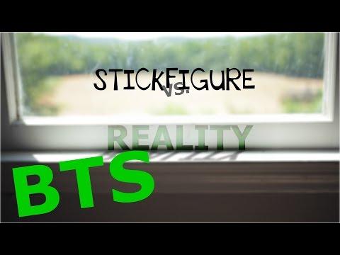 StickFigure VS Reality Animating Timelapse (BTS)