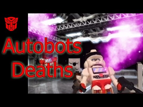 Transformers The Movie - Stop Motion - Autobots Deaths