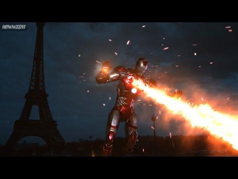 Captain America: Civil War II Trailer (Ironman Stop Motion)