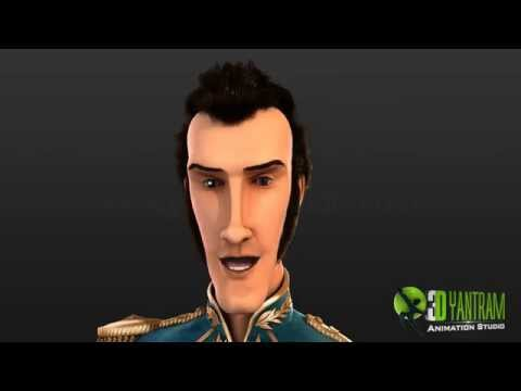 3D Character Modeling - Rigging Animation- Film Production by Motion Capture