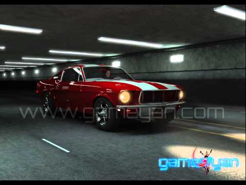 Mustang 3D Car Animation Product Modeling | Rigging Texturing for Games