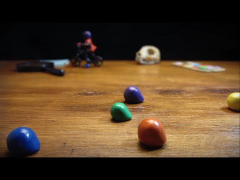 Angry Creator (Stop motion)