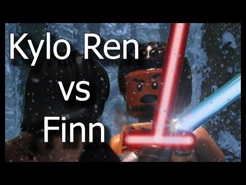 LEGO Stop Motion - Star Wars - Kylo Ren vs Finn