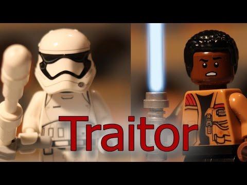 LEGO Stop Motion - Traitor ( Finn vs Stormtrooper TR-8R )