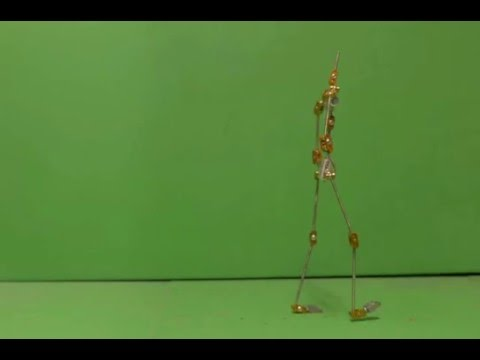 Walk Cycle Stop Motion Test (13/01/2016)