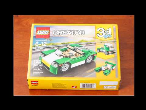Lego Creator 3 in 1 unboxing stop motion