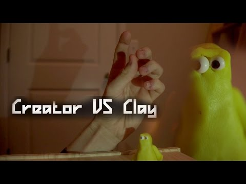Creator VS Clay (Stop Motion Short)