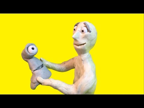 Morphing claymation creatures (stop motion short)