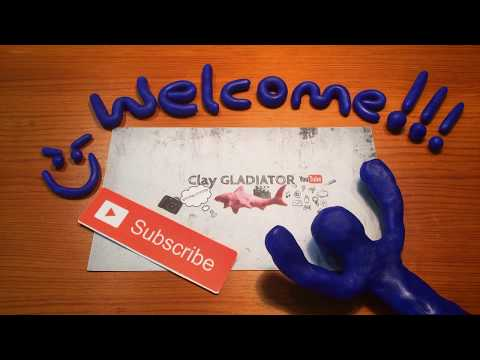 My stop motion channel trailer | Stop Motion | Clay_Gladiator