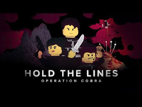 HOLD THE LINES : OPERATION COBRA Lego film [HD]