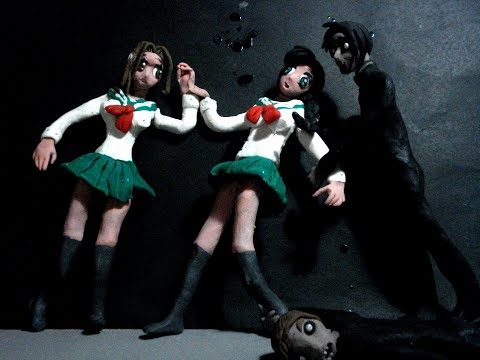 Hot Anime Schoolgirls attacked by Zombies