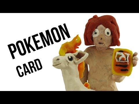 My first POKEMON card | Animation