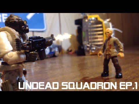 Undead Squadron: Part One - Zombie StopMotion Series