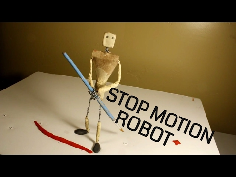 Stop motion Robot Animation