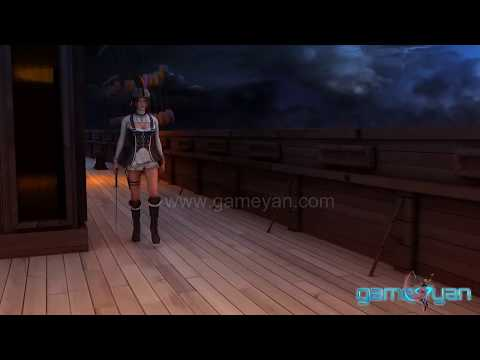 3D Female Girl Character Modeling and Rigging Animation - GameYan Studio