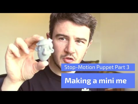 Making a Stop Motion Puppet Part 3