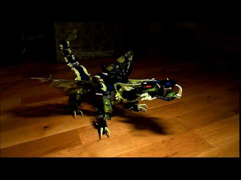 Lego Ninjago Dragon Idle Animation