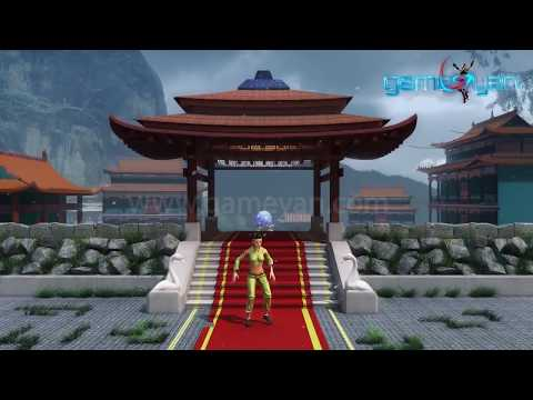 3D Female Warrior Character - Modeling Rigging & Kungfu Fight Animation