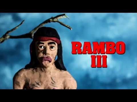 "Rambo ""Fuck em"" Scene. Claymation"