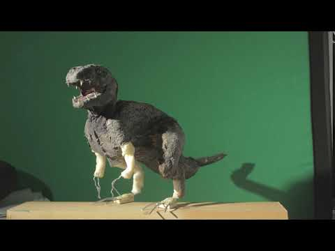 Harryhausen Style Dinosaur Stop Motion Test (improvement)