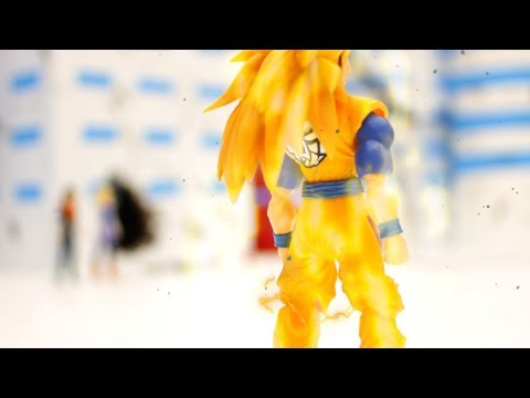 This took me 3 months and 5000 pictures. DBZ stop motion action.