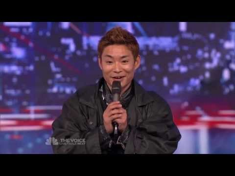 Kenchi Ebina -  Audition Americas Got Talent 8