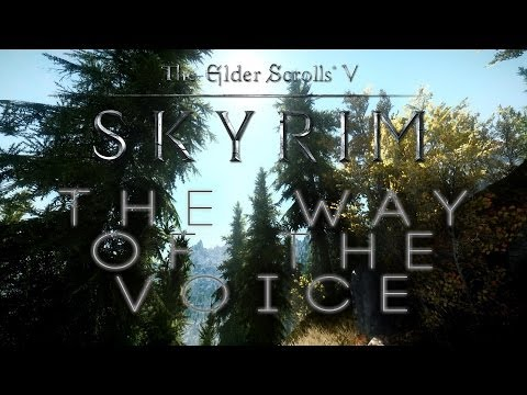 Epic Beautiful Skyrim Music Video - The Way of The Voice